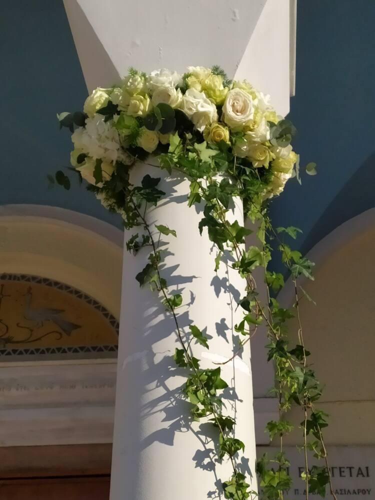στολισμός γάμου περιστέρι